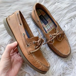 Sperry Classic Original Leather Slip-On Boat Shoe